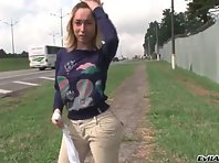 Sabrina Sherman Teasing Near The Highway