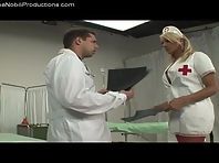 Nurse Carolina Asks If Having a Huge Cock Is Normal For a Girl to have
