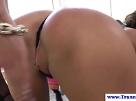 Wellhung knocking slut