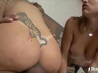 Isabelli And Thaina Lousada in orgy