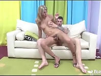 Big Cock Melanie Riding Hard Cock